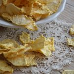 Ananasov čips za valentinovo